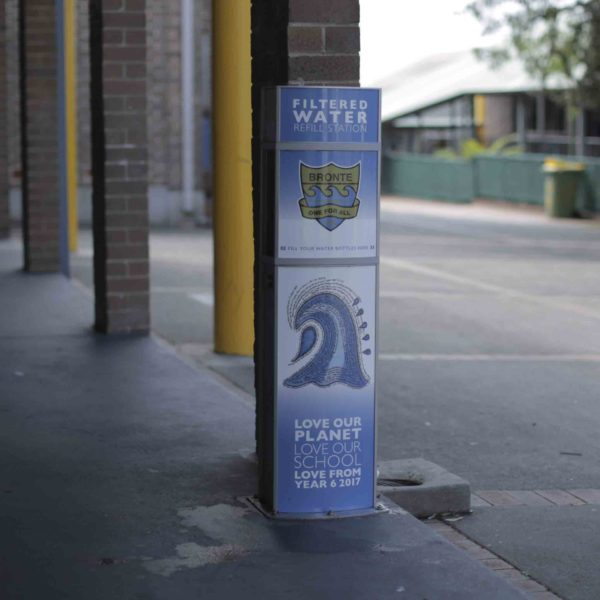 Drinking Water and Bottle Refill Station installed at Bronte School