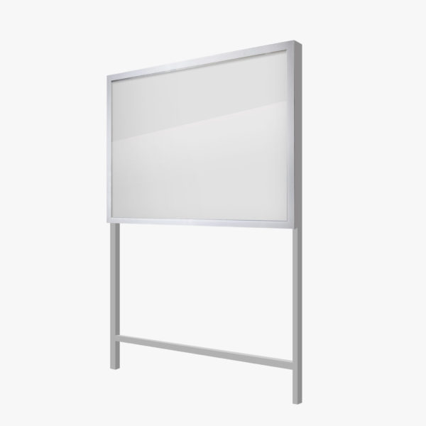 Freestanding Notice Board FlexiDisplay ClipLok
