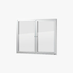 VisiGuard Swinging 2-door Poster Display Board