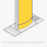 Aquafil Dog Drinking Bowl Sub-surface