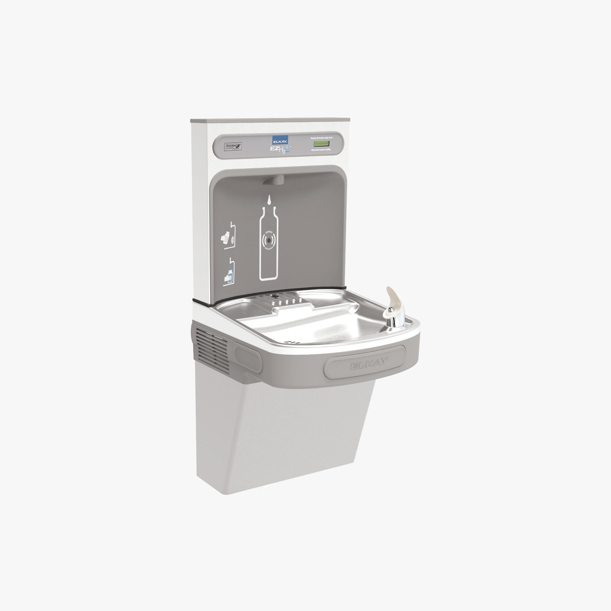 Elkay EZH20 Drinking Fountain and Bottle Refill Station
