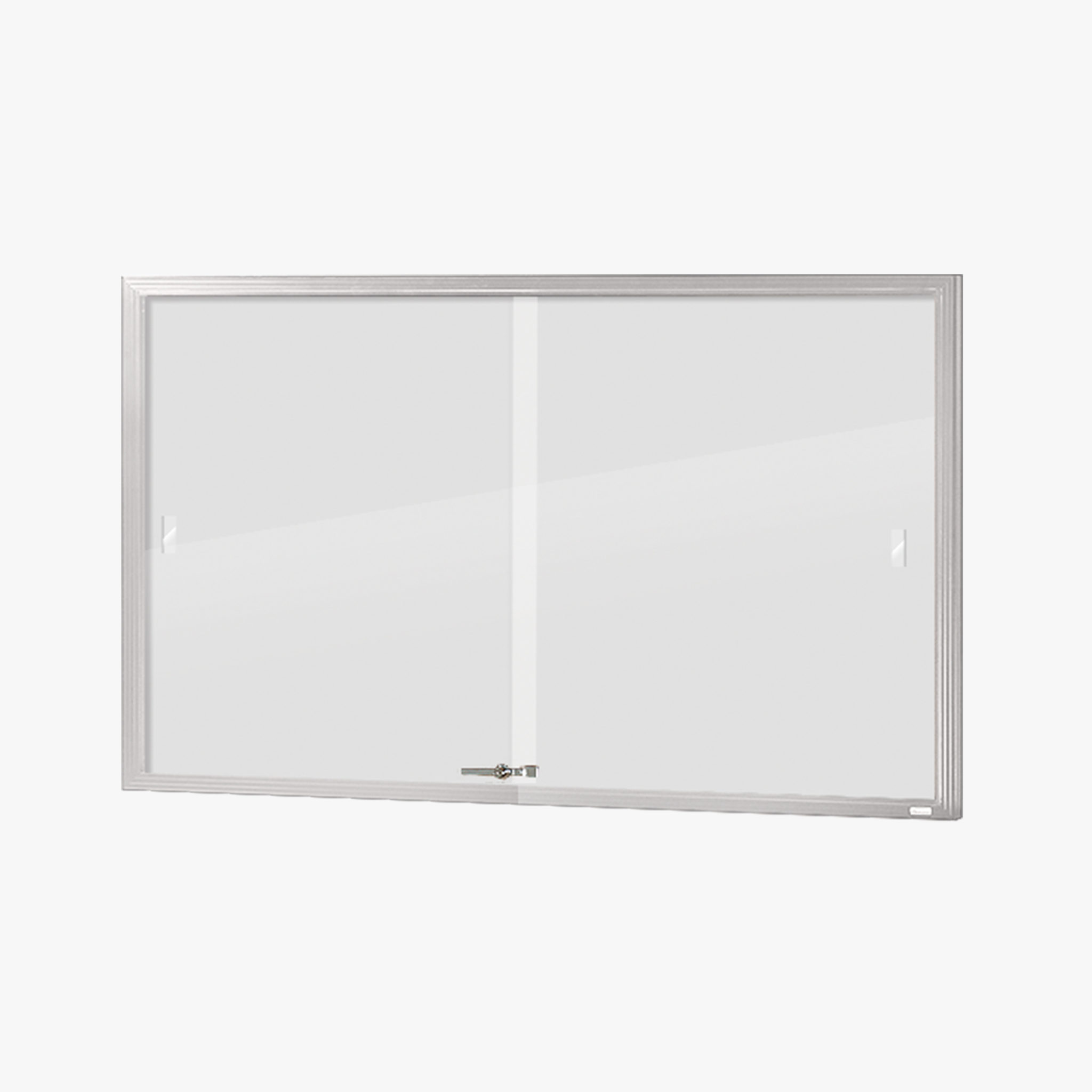 VisiGuard Sliding 2-door Poster Display Board