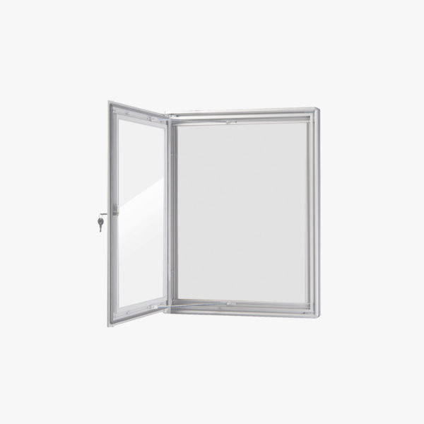 VisiGuard Swinging 1-door Poster Display Board