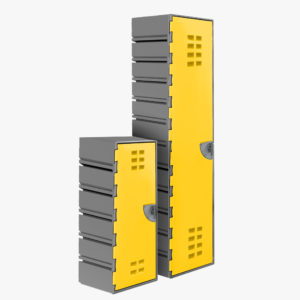 FlexiLocker CubeLok Extra-deep Configurable Storage Locker | CIVIQ