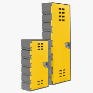 FlexiLocker CubeLok Extra Wide Configurable Storage Locker