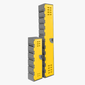Flexilocker Cubelok Narrow Configurable Storage Locker