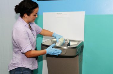 Water Cooler and Drinking Fountain Cleaning Methods