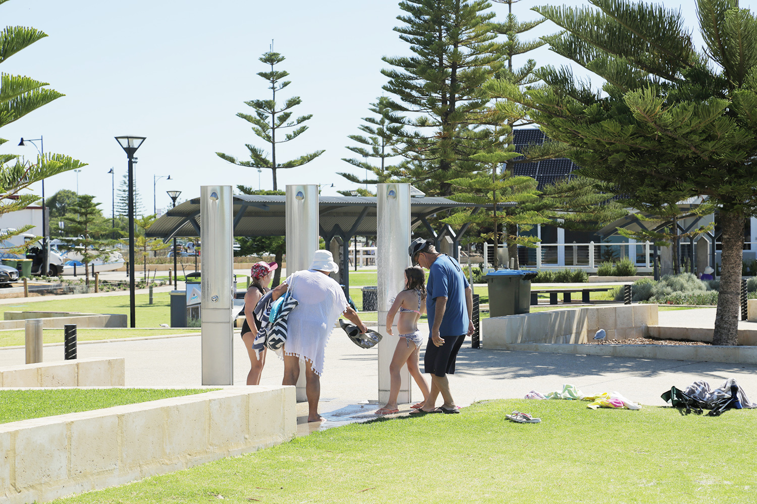 Busselton Outdoor Showers
