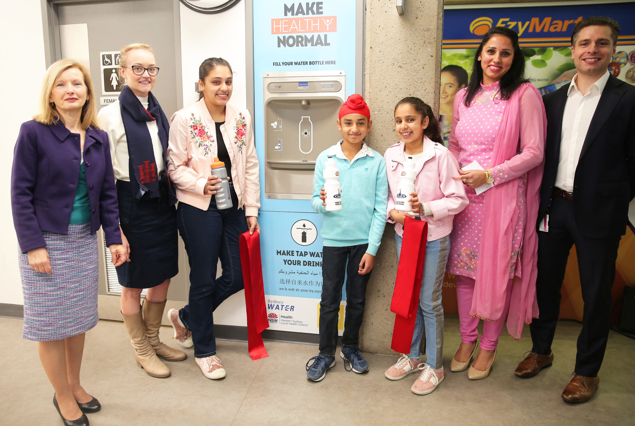 Westmead Refill Station Launch Event