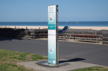 Aquafil FlexiFountain Drinking Water Station in Port Phillip Council