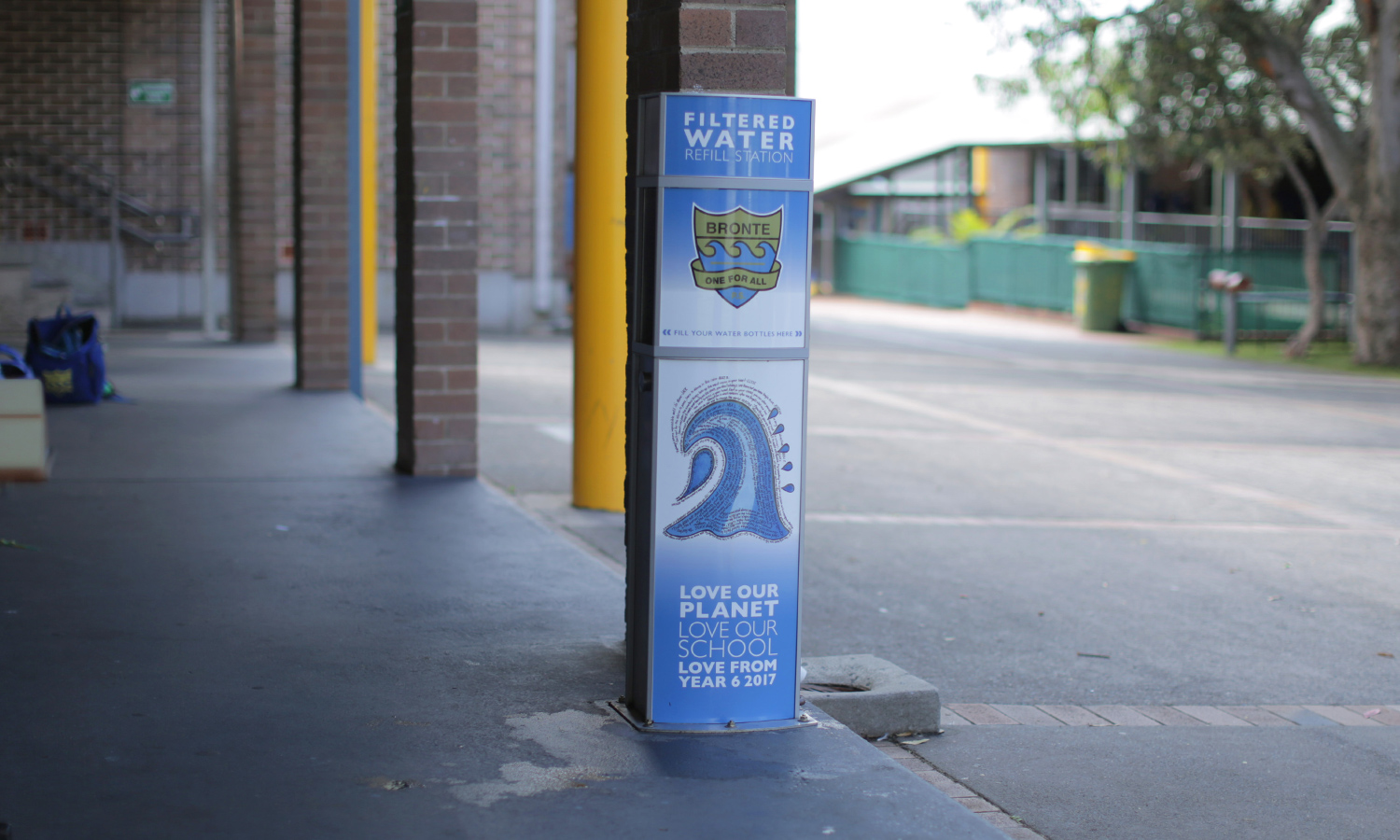 Bronte Public School installed a Aquafil Pulse Junior 1200B to keep students hydrated