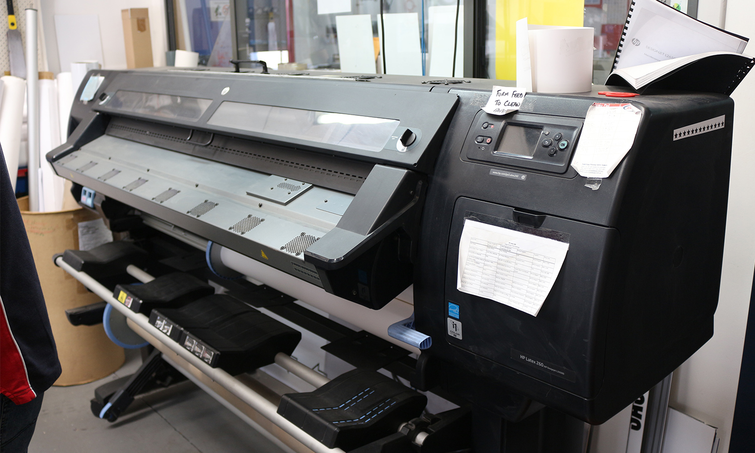 Kwik Kopy Auburn wide format printer