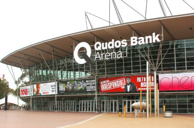 Qudos Bank Arena main entrance