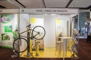 CIVIQ stand at the Parks & Leisure Australia Congress