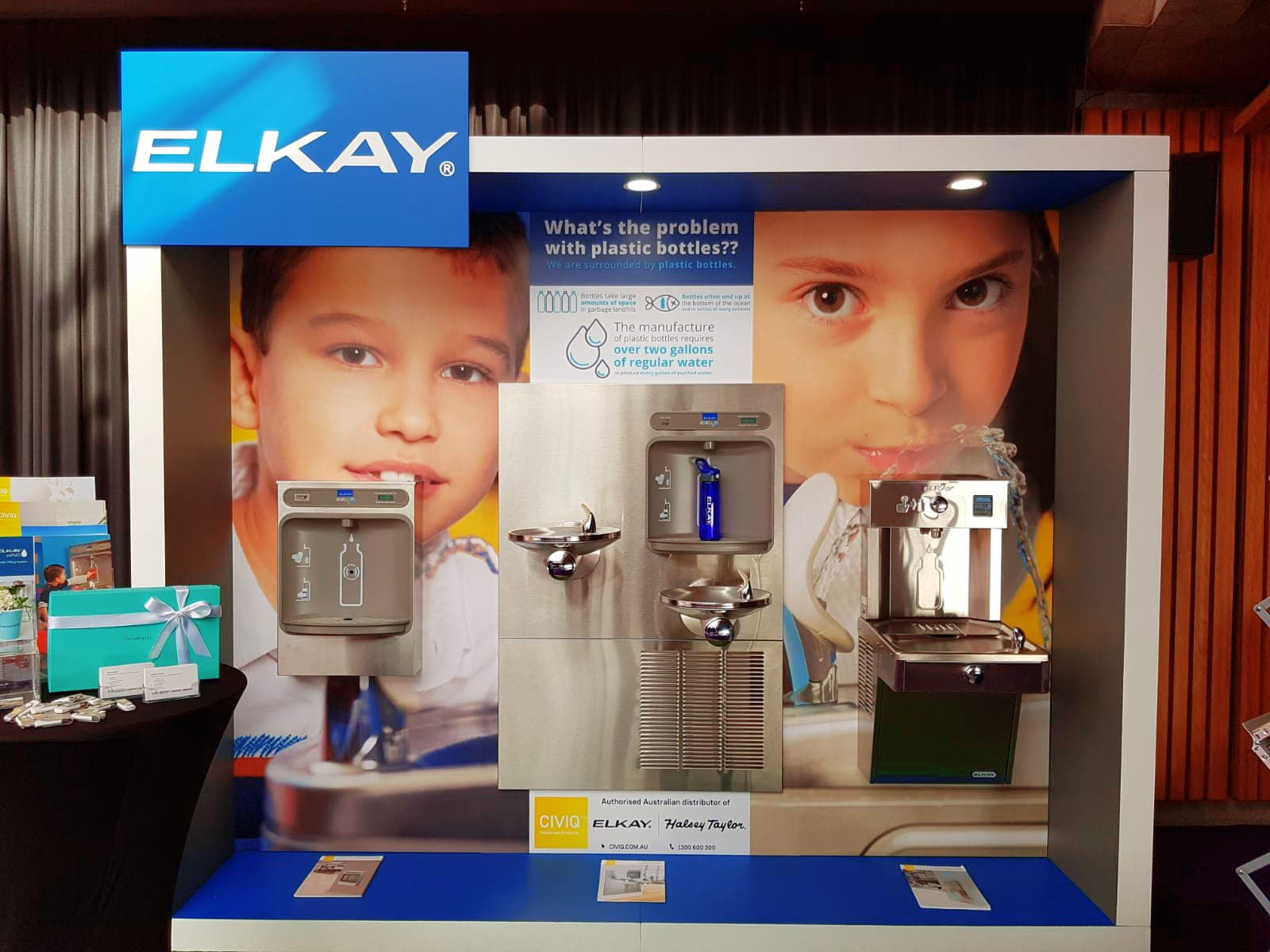 CIVIQ Showcases Elkay Drinking Fountains at The Opera House