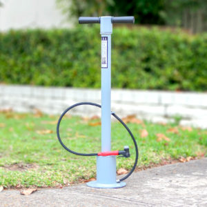 Cycla Bike Air Pump with Durable Safe Anti Slip Rubber Hand Grips and Solid Pump Rod