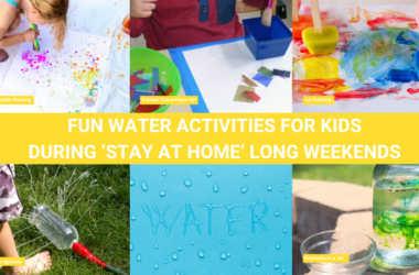 Cool Water Activities with kids during long weekend
